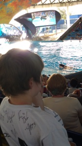 TJ seeing Orcas for the first time.